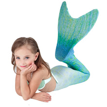 Sparkling MerGirl Tail With Monofin 5 PC Set