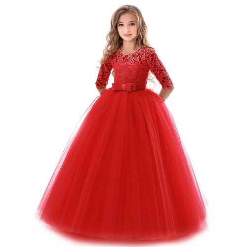 Festive Holiday Princess Dresses