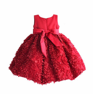 Girl Party Dress Petal Princess