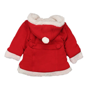 Santa's Cozy Hooded Shirt