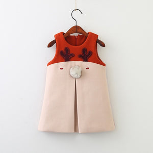 Cute Reindeer Party Dress