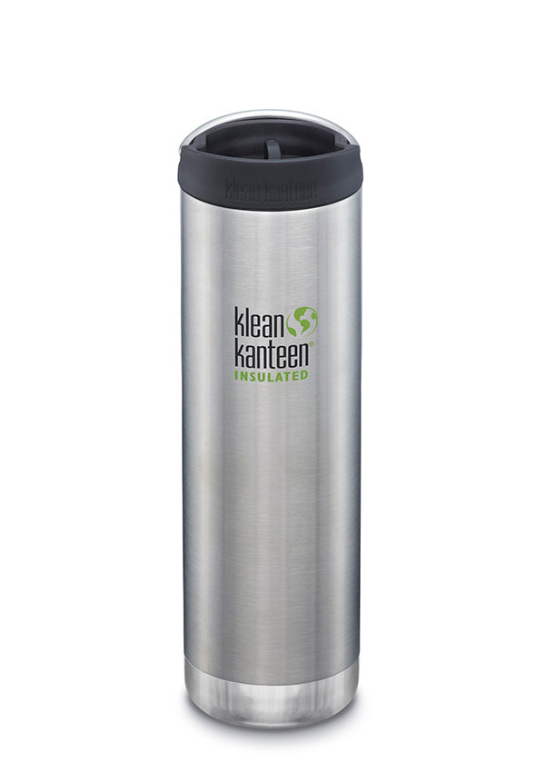 Brushed steel Klean Kanteen TKWide 592ml insulated mug