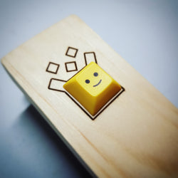 Yellow Face Keycap - Mechbox