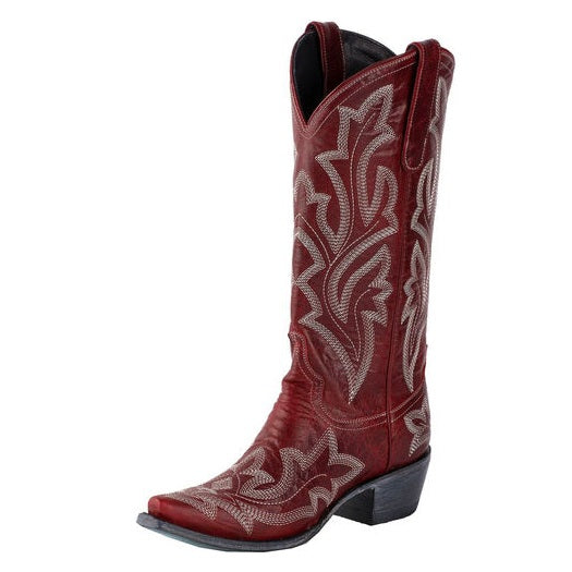 Lane Saratoga Red Women's Western Boots