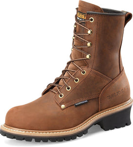 "Carolina Men's 8"" Waterproof Logger Boots"