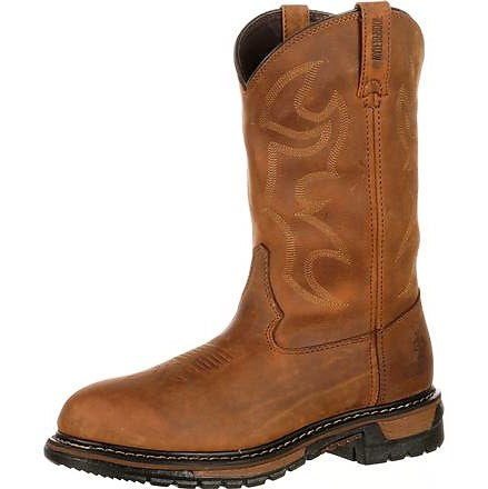 Rocky Ride Roper Waterproof Western Work Boot