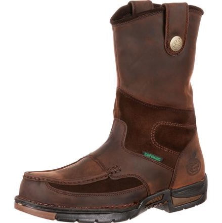 Georgia Boot Athens Wellington Waterproof Work Boot Safety