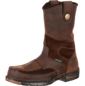 Georgia Athens Waterproof Wellington Work Boot