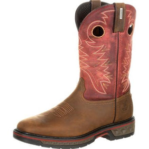 Georgia Boot Carbo-Tec Waterproof Pull-On Boot