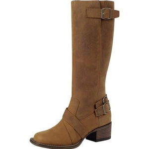 "Durango Charlotte 14"" Brown Leather Tall Boots"