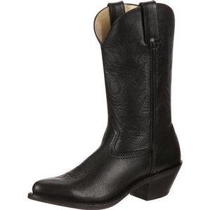Durango Black Leather Cowgirl Boots