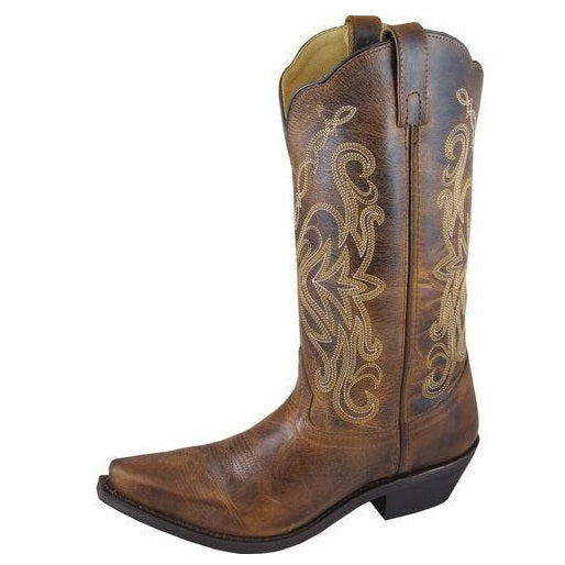 Smoky Mountain Madison Brown Leather Cowgirl Boot