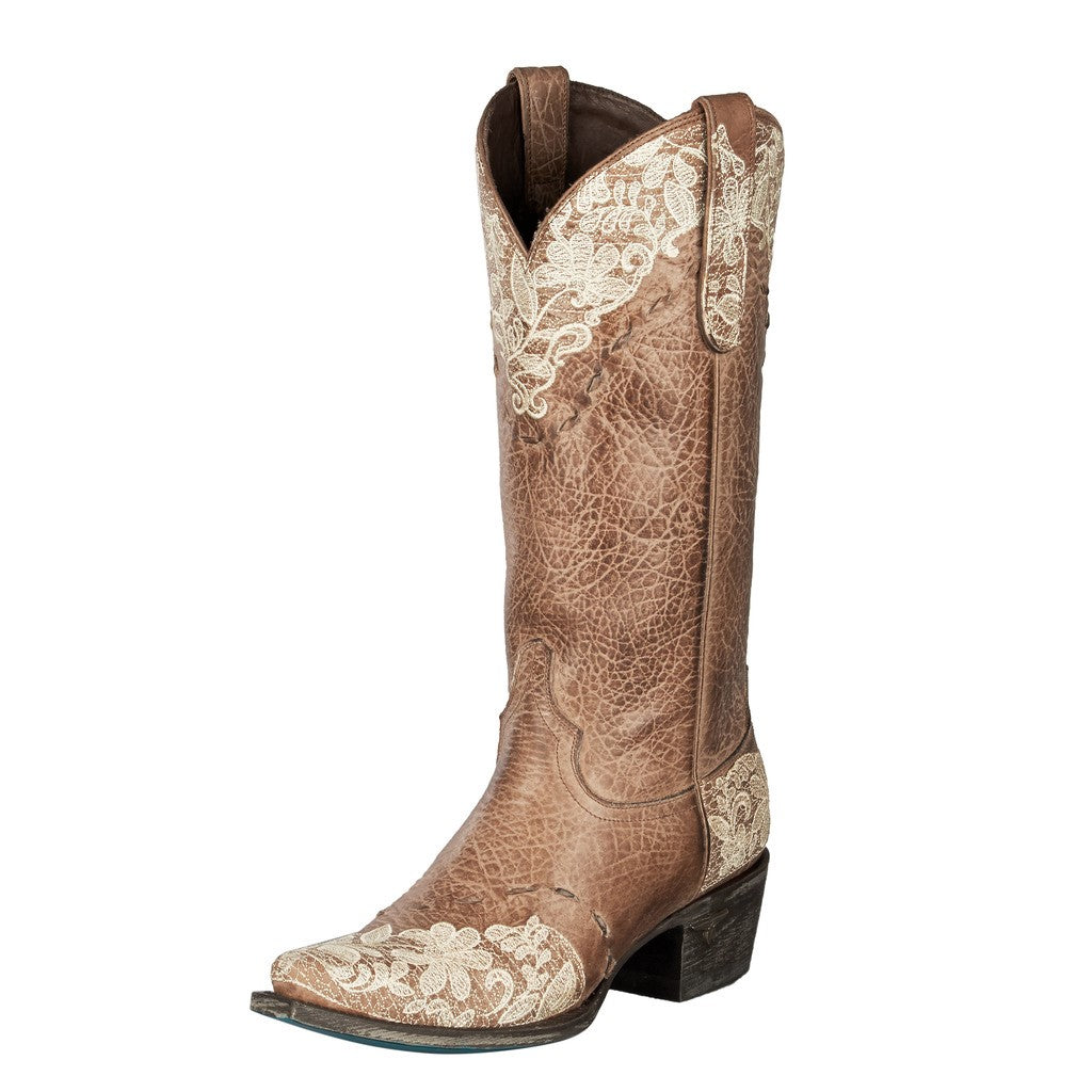 4f61a1a722d Lane Jeni Lace Fashion Cowgirl Boots