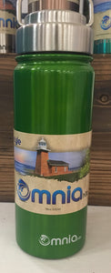 16 oz GREEN Omnia Water Bottle