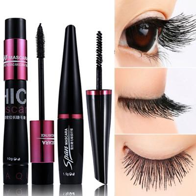4D Silk Fiber Eyelash Mascara Set