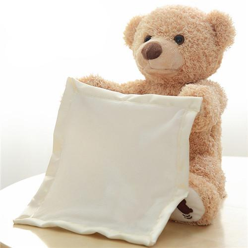 Peek-A-Boo Plush Toy Bear