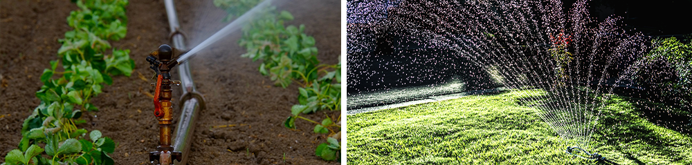 watering and irrigation systems