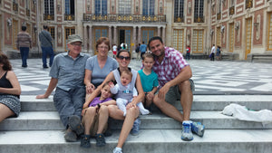 The only way to do Versailles with a Family!