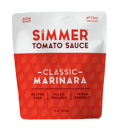 Simmer Tomato Cooking Sauce - Classic Marinara - Case of 6