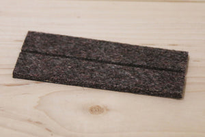 5004: INDUSTRIAL STRENGTH ADHESIVE FELT STRIPS (19MM X 101MM)