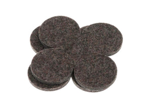 5001: INDUSTRIAL STRENGTH ADHESIVE FELT DISCS 38MM