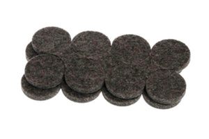 5002: INDUSTRIAL STRENGTH ADHESIVE FELT DISCS 25MM