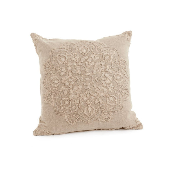 Beige beauvillon cushion