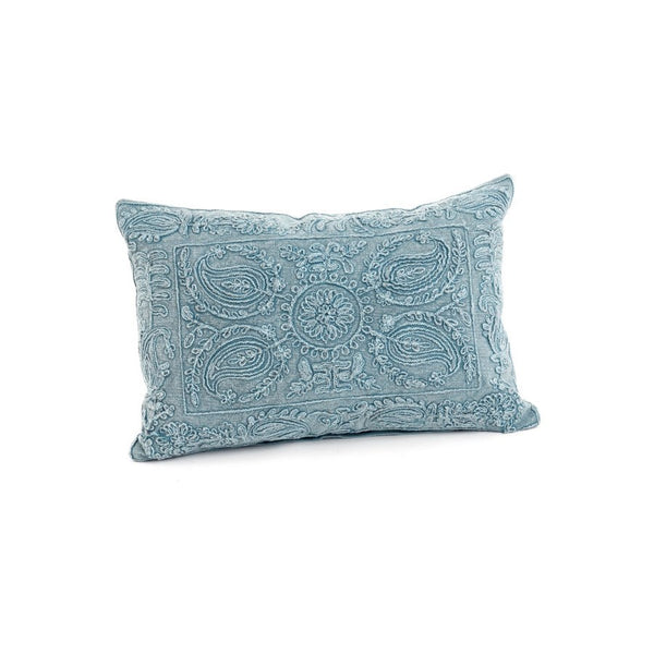 Blue beauvillon cushion