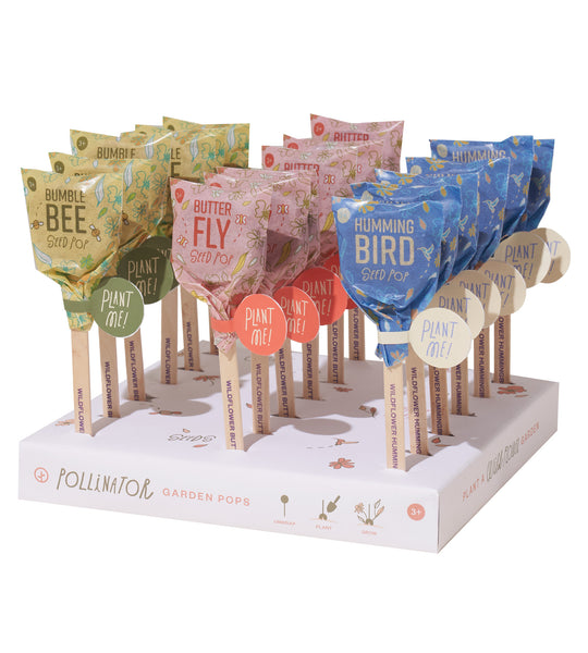 Seed Lollipops - Pollinators