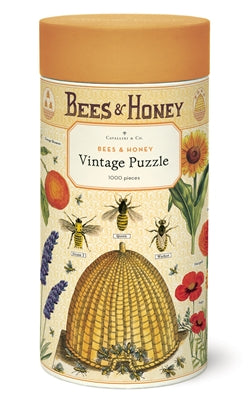 Vintage Puzzle - Bees & Honey