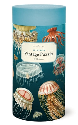 Vintage Puzzle - Jellyfish