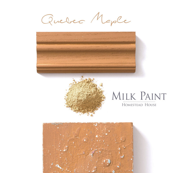 Milk Paint Stain - Quebec Maple