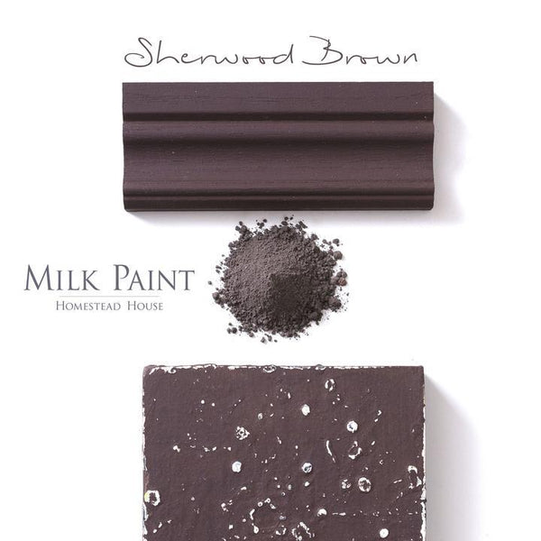 Milk Paint Stain - Sherwood Brown