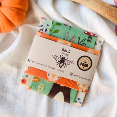 Bees Louise Beeswax Food Wraps