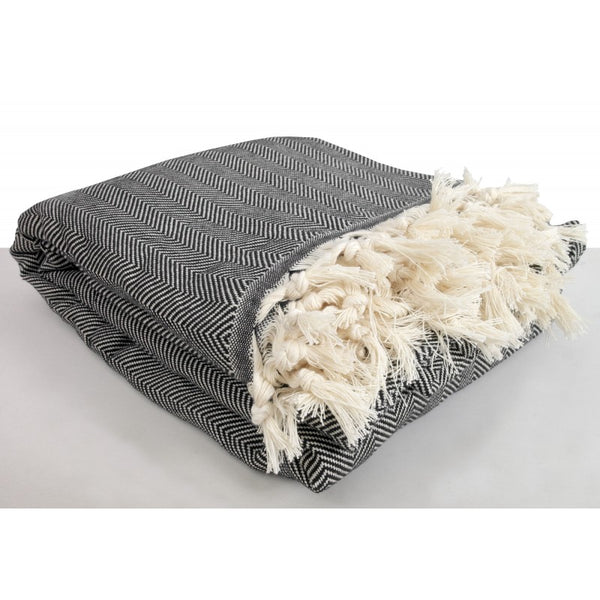 Herringbone King Size Blanket