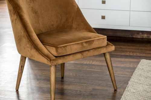 Brea Accent Chair - Cognac
