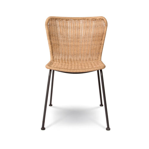Calabria Wave Dining Chair - Natural