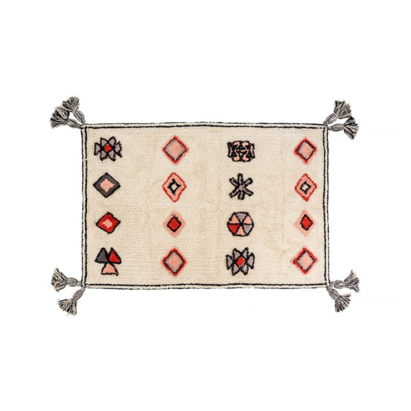 Cairo Tasseled Bath Mat