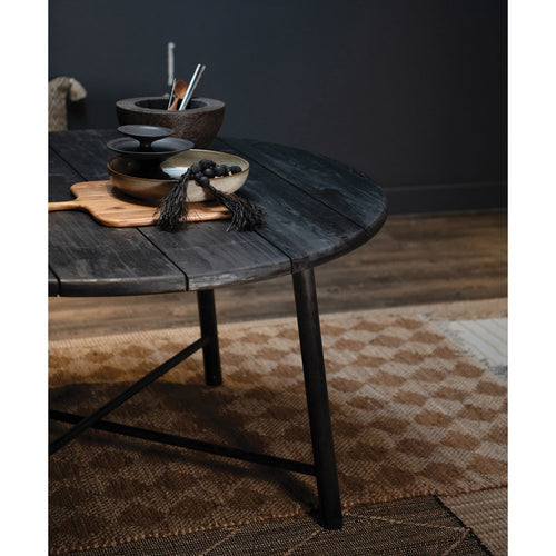 Acacia Wood Table - Black