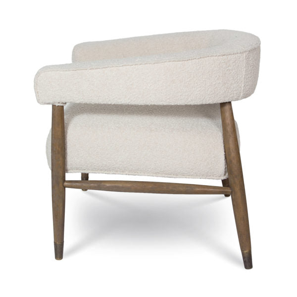 Boreal Chair – Cream Boucle