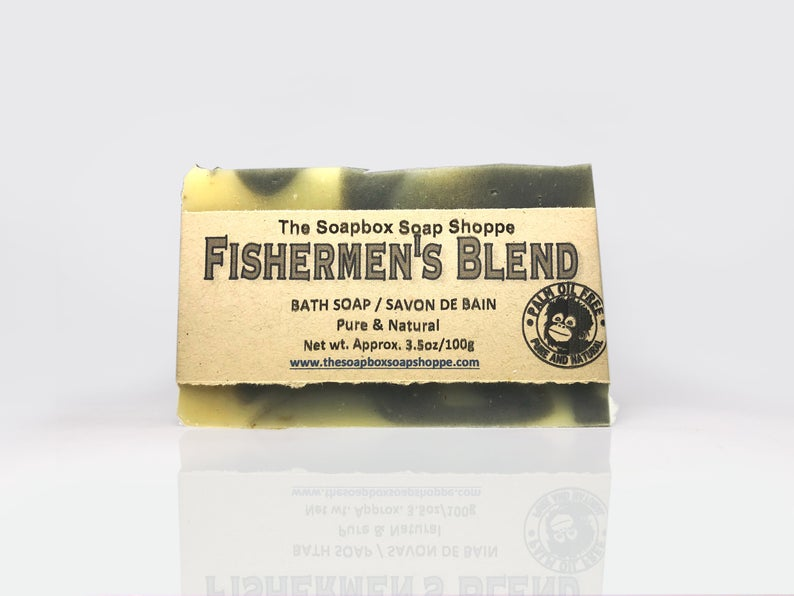 Fishermen's Blend Natural Soap Bar