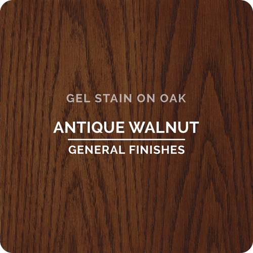 General Finishes Gel Stain - Antique Walnut