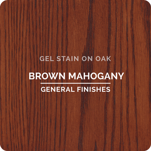 General Finishes Gel Stain - Brown Mahogany