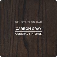 General Finishes Gel Stain - Carbon Gray