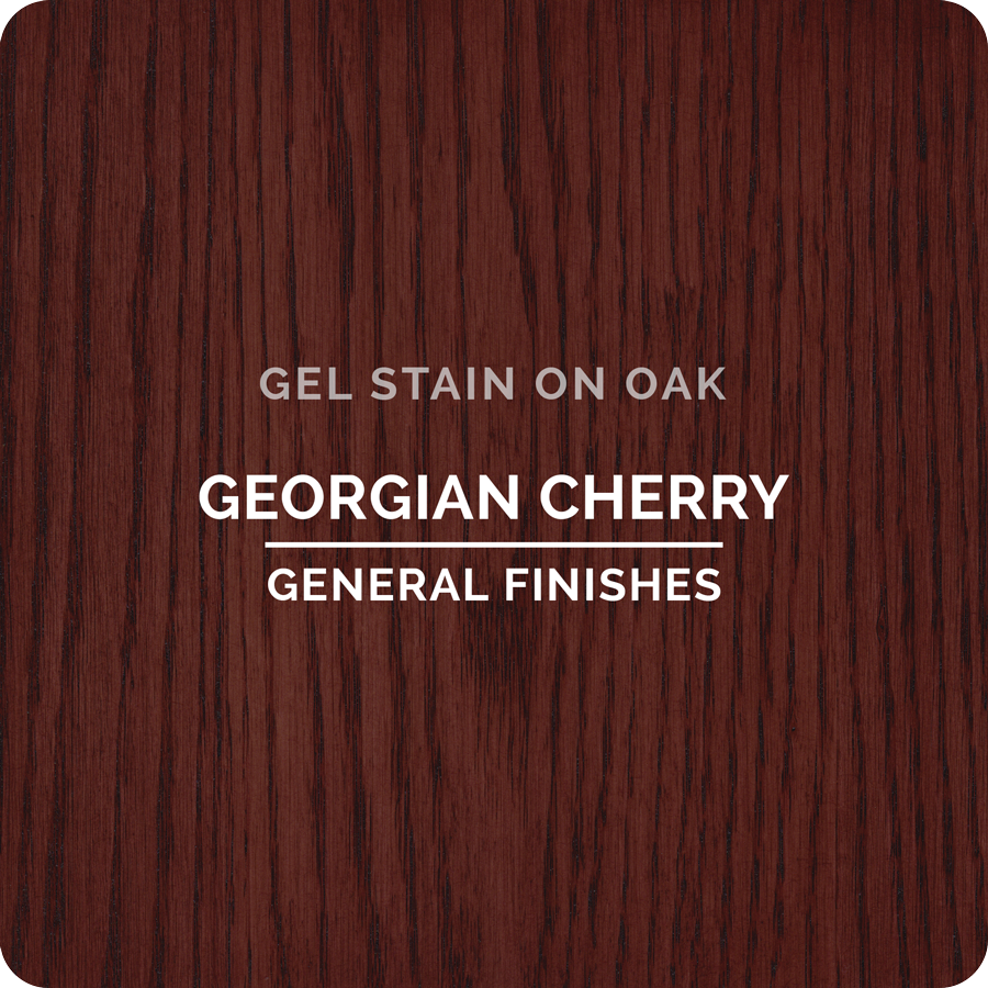 General Finishes Gel Stain - Georgian Cherry