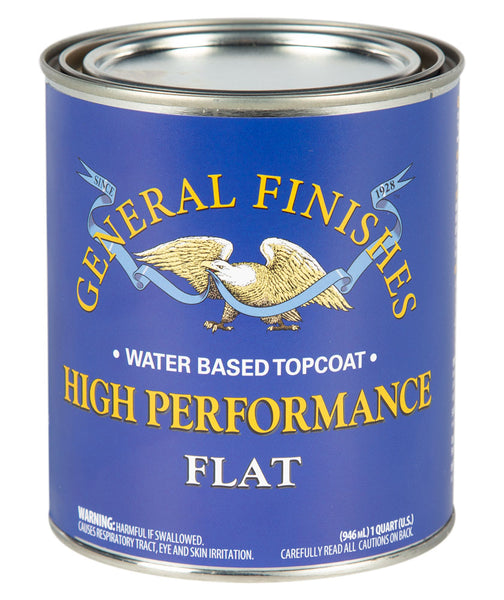 General Finishes High Performance Top Coat - Flat