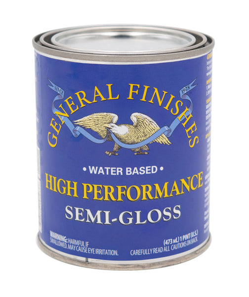 General Finishes High Performance Top Coat - Semi-Gloss