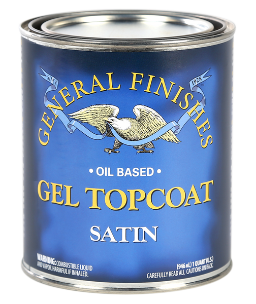 General Finishes Gel Top Coat - Satin (Oil Based)