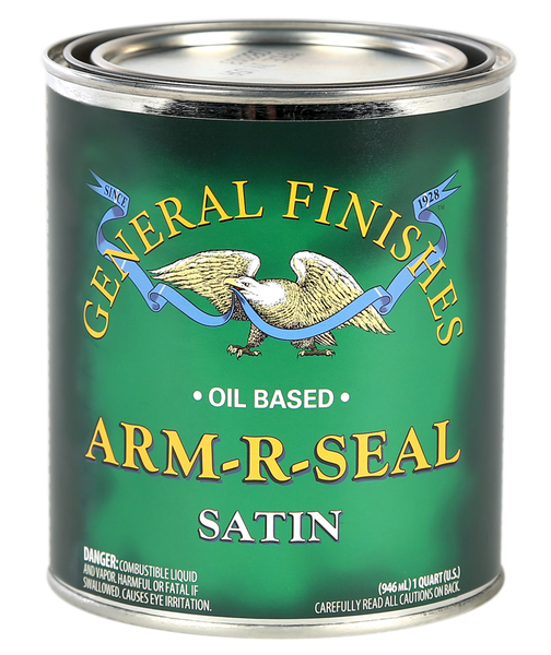 General Finishes Arm-R-Seal Top Coat (Oil Based) - Satin