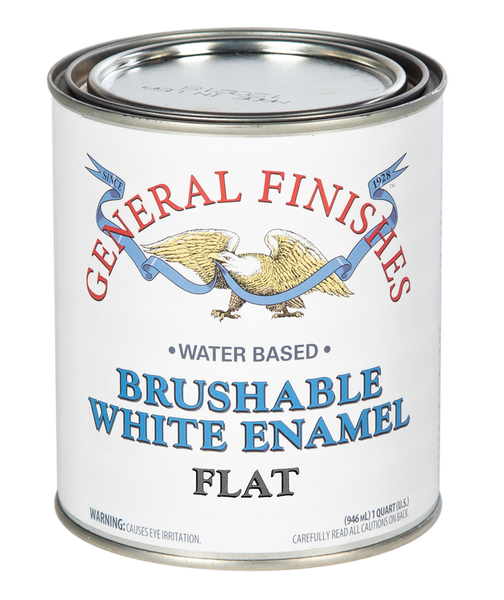 General Finishes Brushable White Enamel